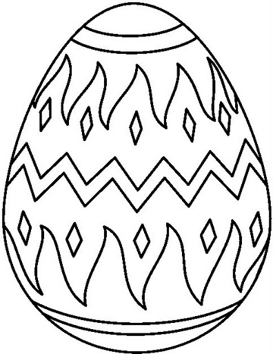 easter egg coloring pages easter_egg7_bwjpg easter_egg2_bwjpg - Easter Egg Coloring Pages