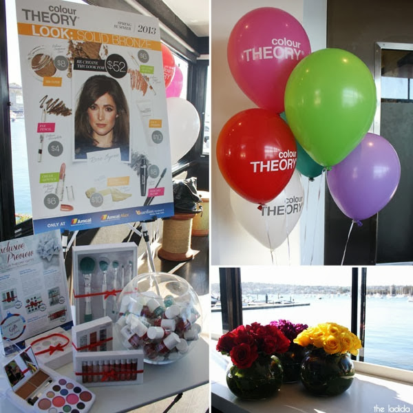Colour Theory Australian Launch - Sailors Club Rose Bay - Makeup Kits