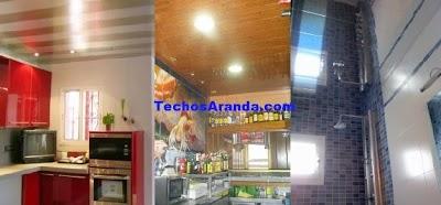 Falsos techos de aluminio Leganés