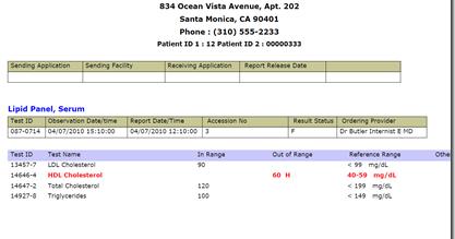 Healthcare IT EMR PMS: Sample HL7 Files