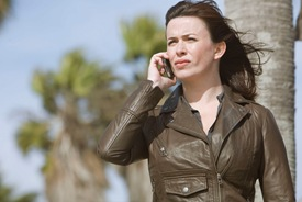 Eve Myles is Gwen Cooper  in Torchwood Miracle Day Escape to LA