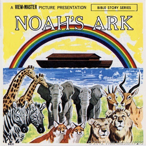 View-Master Noah's Ark (B851), booklet cover