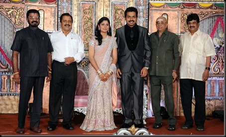 karthik sivakumar reception photos00