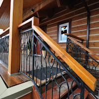 Metal railing by Mike Mintern