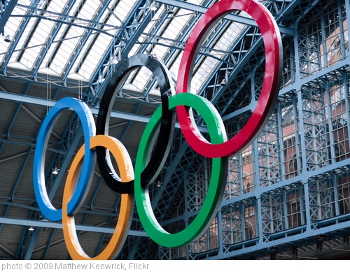 'Olympic Rings - (Day 7 Holiday 2011)' photo (c) 2009, Matthew Kenwrick - license: http://creativecommons.org/licenses/by-nd/2.0/