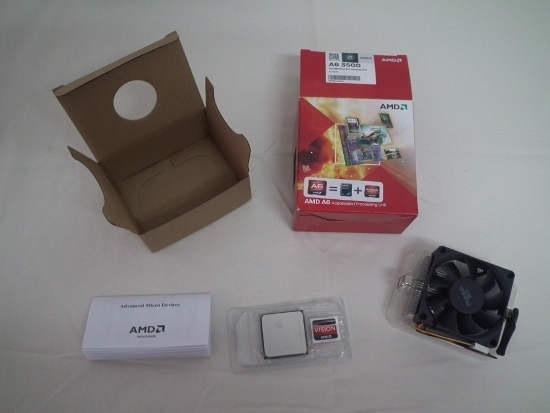 Contenido AMD A6 3500