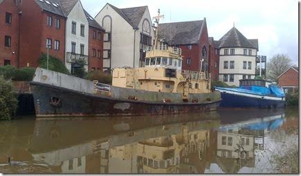 ex mod ship near basin
