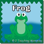 Frog Preschool Unit