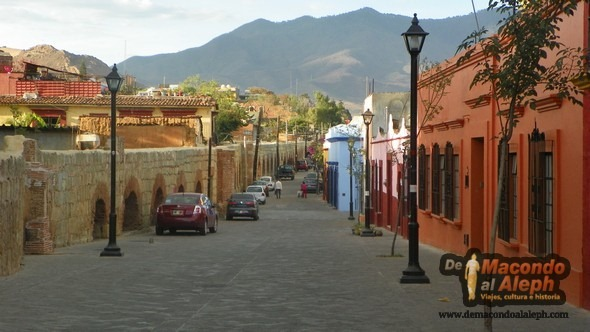 Calles de Oaxaca de Juarez México
