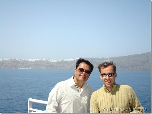 Ferry Blue Star Santorini - 8h de viagem