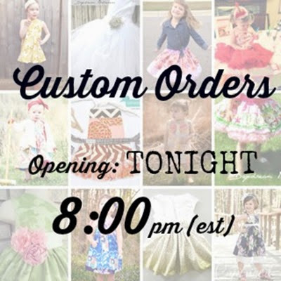 Custom Orders Reminder