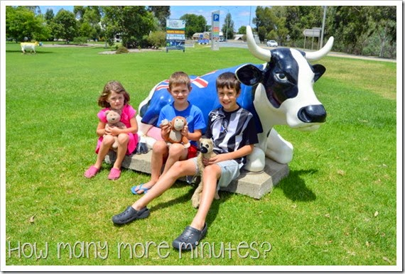 Shepparton: Mooving Art Exhibit ~ How Many More Minutes?