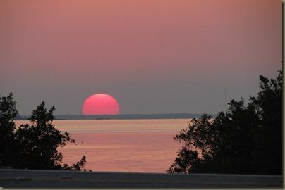 sunset at sunshine key