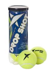 """Las pelotas High visibility"""" suponen una gran novedad en el mercado, son las únicas especializadas para desarrollar el juego con luz artificial, resultan ideales para jugar con poca claridad o de noche DROP SHOT"""