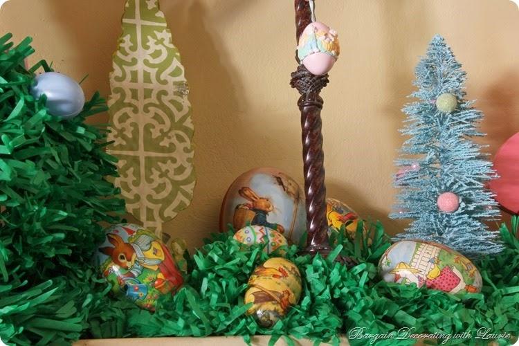 Easter Mantel