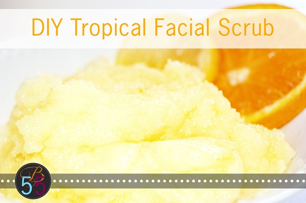 Facial Scrub Recipe