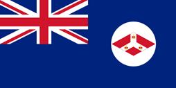 Bendera kekuasaan Inggris
