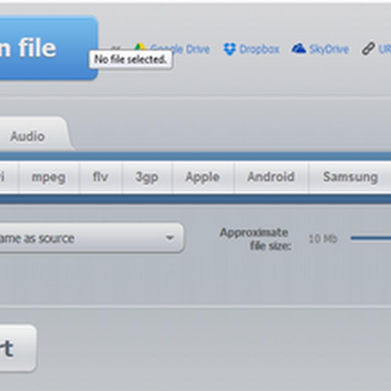 แปลงไฟล์วีดีโอและไฟล์เสียงจาก Dropbox,Google Drive และ Skydrive แบบง่ายๆ