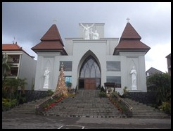Indonesia, Bali, Kuta Catholic Church, January 2013 (1)