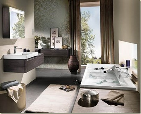 muebles para baños modernos-