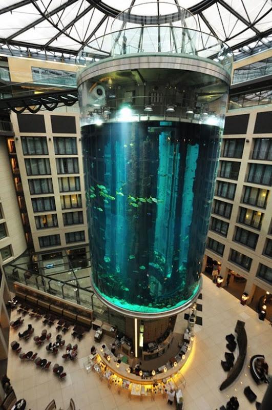 Cylindrical Aquarium 02