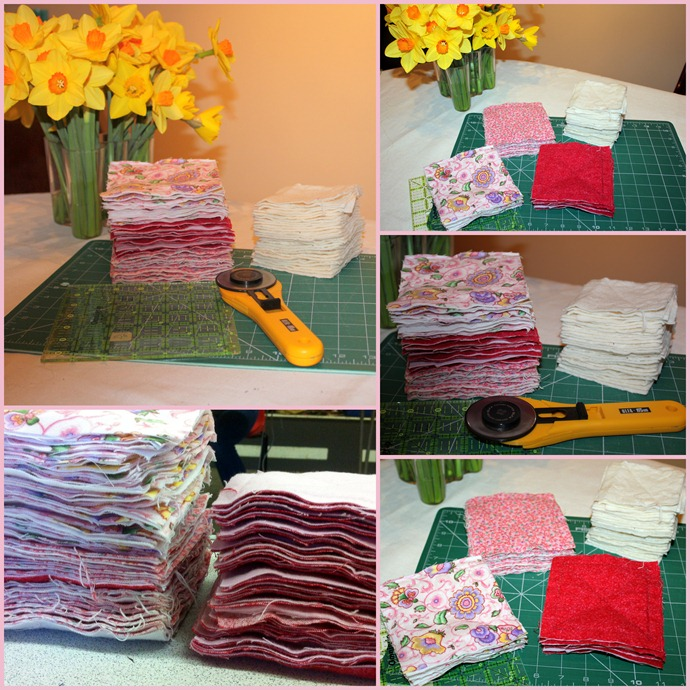 Raggedy baby quilt