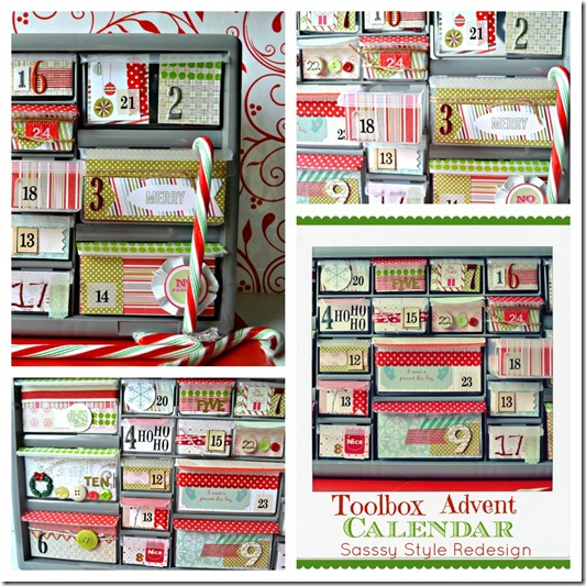 toolbox advent calendar collage