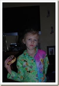 girl and donut