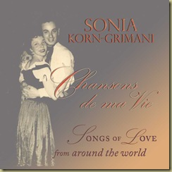 CD cover front insert