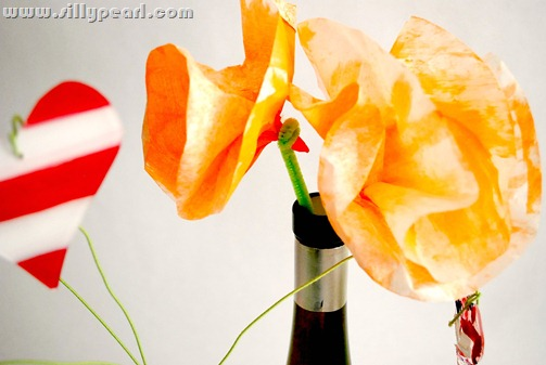 Coffee Filter California Poppies