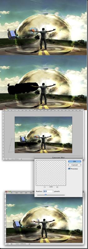 Cara Membuat Efek Perisai Udara Dengan Photoshop27