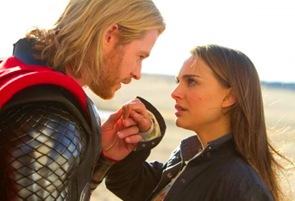 Thor with Natalie