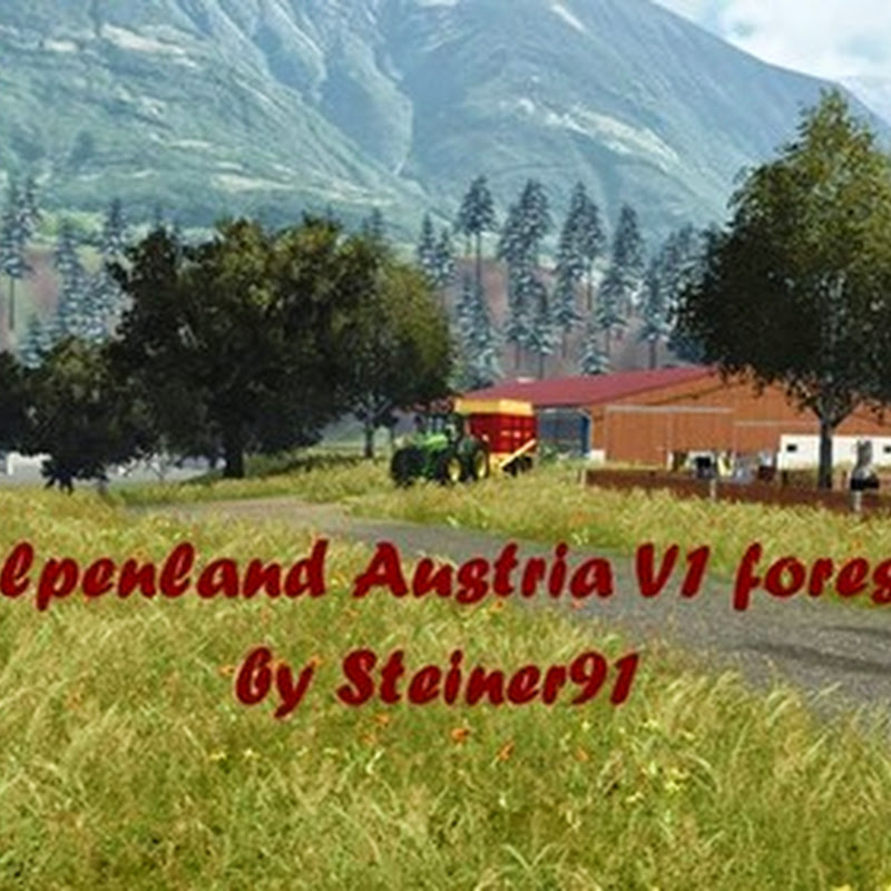 Farming simulator 2013 - Alps Austria country v 1.1