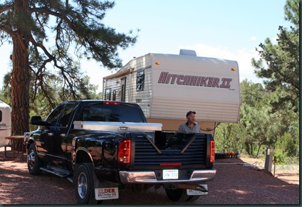 To Colorado, RV park and tow truck 035