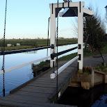 bridge at the zaanse schans in zaandam in Zaandam, Noord Holland, Netherlands