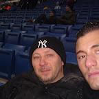 saluti dallo stadio di Hoffenheim.. contro il Leverkusen.. 24.01.2010... Nino e Sebi Marsala