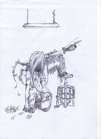 School Angel, dibujo de Patt Hiyoshikina