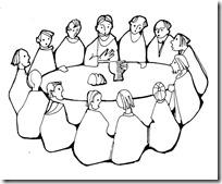 ultima cena jesus colorear (6)