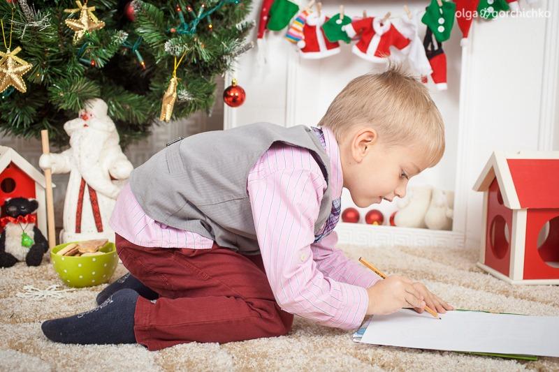Детский новогодний фотопроект Рождественские мечты. 6. Федя и Варя-8463