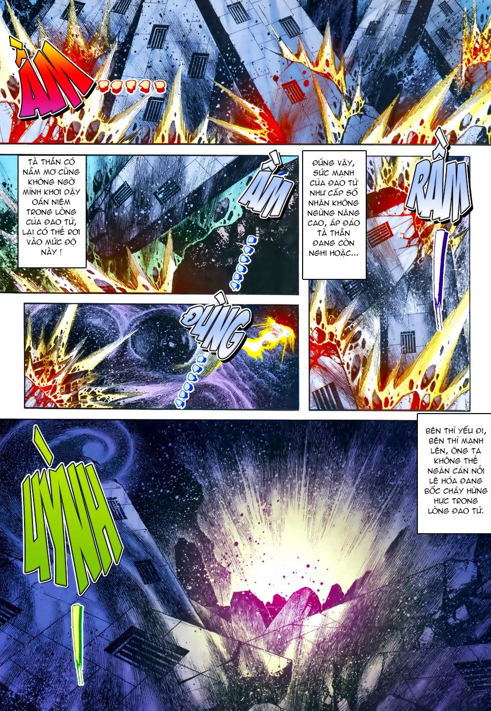 X Bạo Tộc chap 69 - Trang 14