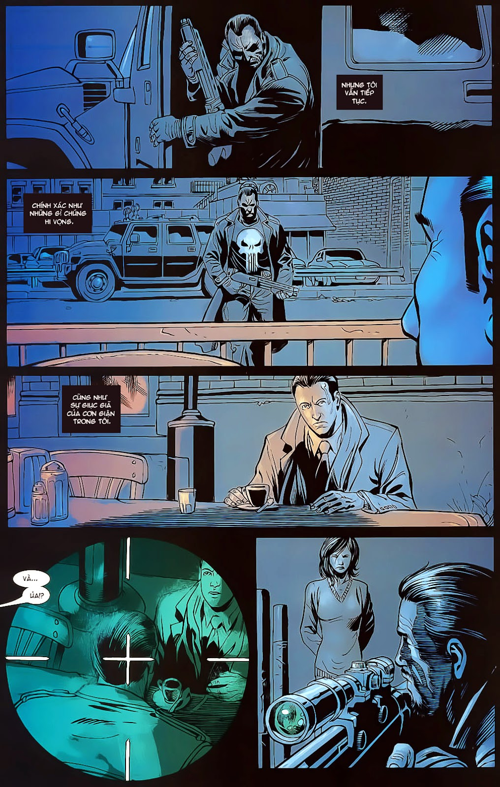 The Punisher: Trên là Dưới & Trắng là Đen chap 4 - Trang 23
