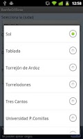 Screenshot of Cercanías Offline