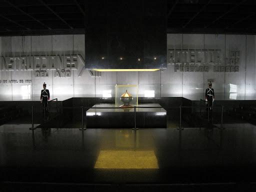 The Mausoleo de Artigas mausoleum.