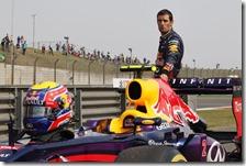 Webber è rimasto a piedi nel corso della Q2 del gran premio della Cina 2013