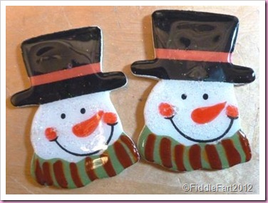 snowman head embellishments