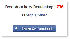 -736 free vouchers remaining