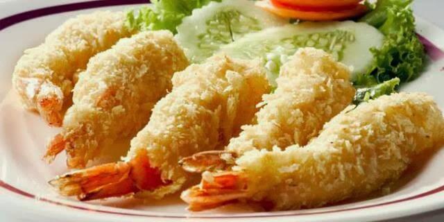 resep seafood tempura udang