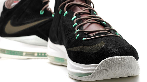 LeBron X NSW BlackDark Field BrownTourmaline  New Images