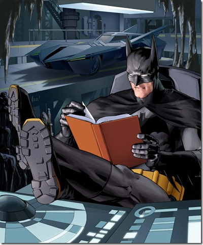 reading batman