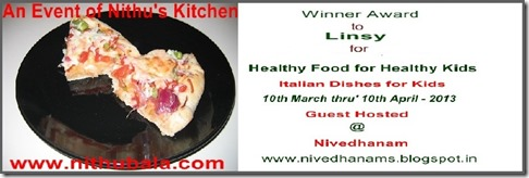 Italian Dishes for Kids Winner